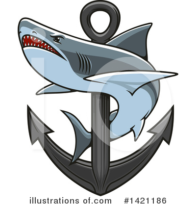 Anchor Clipart #1421186 by Vector Tradition SM