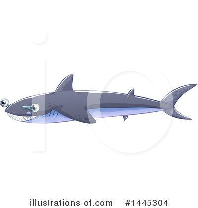 Shark Clipart #1445304 by Graphics RF