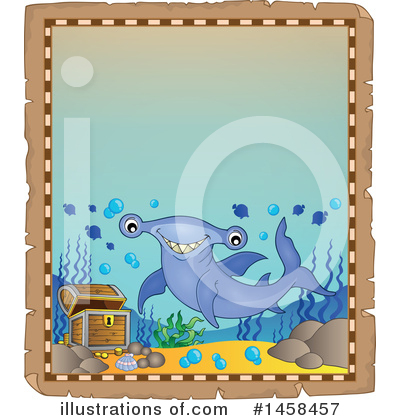 Hammerhead Shark Clipart #1458457 by visekart