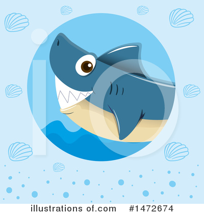 Shark Clipart #1472674 by Graphics RF