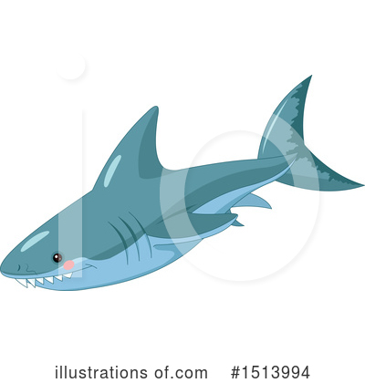 Shark Clipart #1513994 by Pushkin