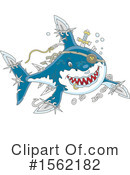 Shark Clipart #1562182 by Alex Bannykh