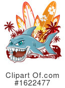 Shark Clipart #1622477 by Domenico Condello