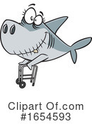 Shark Clipart #1654593 by toonaday