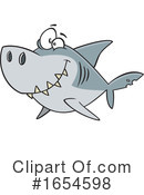 Shark Clipart #1654598 by toonaday