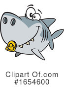 Shark Clipart #1654600 by toonaday