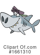 Shark Clipart #1661310 by toonaday