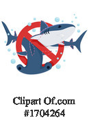 Shark Clipart #1704264 by BNP Design Studio