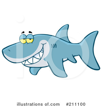 Shark Clipart #211100 by Hit Toon
