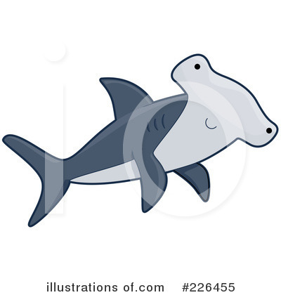 Hammerhead Shark Clipart #226455 by BNP Design Studio