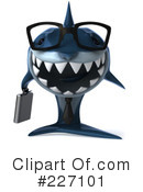 Royalty-Free (RF) Shark Clipart Illustration #227101