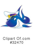 Royalty-Free (RF) Shark Clipart Illustration #32470