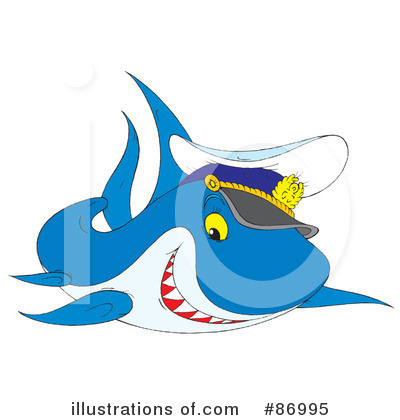 Shark Clipart #86995 by Alex Bannykh