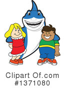 Shark Mascot Clipart #1371080 by Toons4Biz