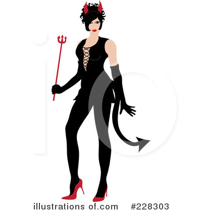 She Devil Clipart #228303 by Pams Clipart