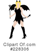 She Devil Clipart #228306