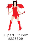 She Devil Clipart #228309