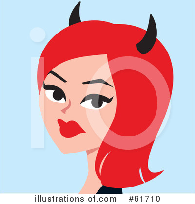 She Devil Clipart #61710 by Monica
