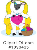 Sheep Clipart #1090435 by Maria Bell