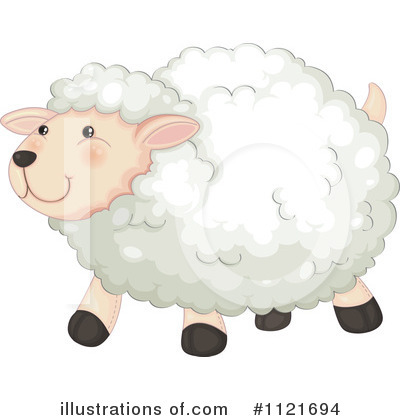 Sheep Clipart #1121694 by Graphics RF