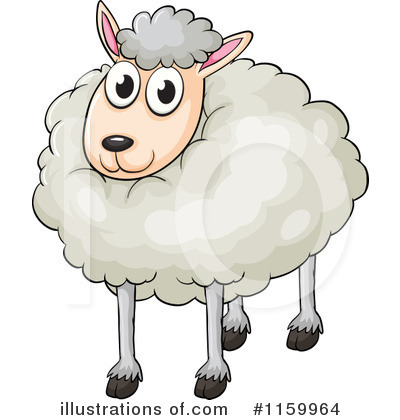 Sheep Clipart #1159964 by Graphics RF