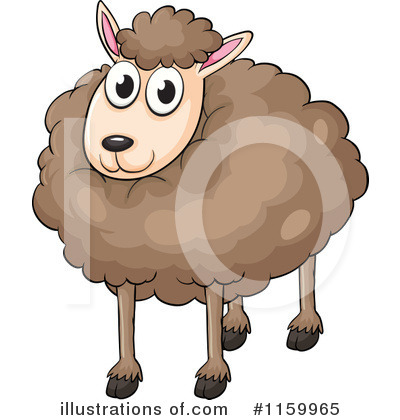 Sheep Clipart #1159965 by Graphics RF