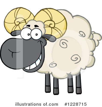 Ram Clipart #1228715 by Hit Toon