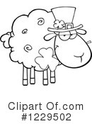 Sheep Clipart #1229502 by Hit Toon