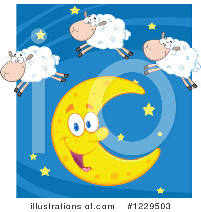 Insomnia Clipart #1229503 by Hit Toon