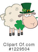 Royalty-Free (RF) Sheep Clipart Illustration #1229504