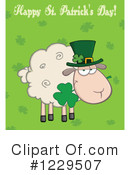 Royalty-Free (RF) Sheep Clipart Illustration #1229507