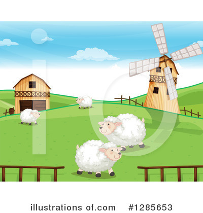 Sheep Clipart #1285653 by Graphics RF
