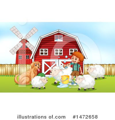 Farmer Clipart #1472658 by Graphics RF