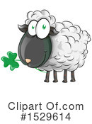 Sheep Clipart #1529614 by Domenico Condello