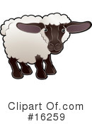 Sheep Clipart #16259 by AtStockIllustration