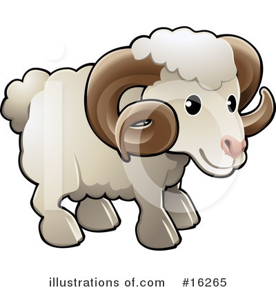 Ram Clipart #16265 by AtStockIllustration
