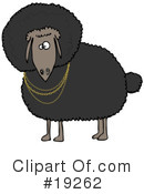 Royalty-Free (RF) sheep Clipart Illustration #19262