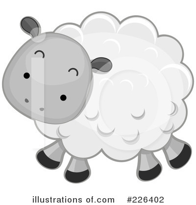 Royalty Free (RF) Sheep Clipart Illustration By BNP Design Studio   Stock  Sample