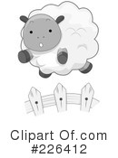 Royalty-Free (RF) Sheep Clipart Illustration #226412