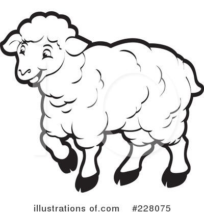 Sheep Clipart #228075 - Illustration by Lal Perera