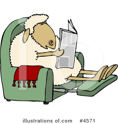 Newspaper Clipart #4571 by djart