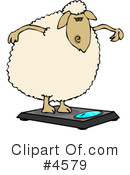 Sheep Clipart #4579 by djart
