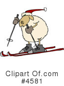 Royalty-Free (RF) sheep Clipart Illustration #4581