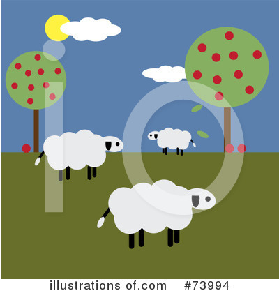 Sheep Clipart #73994 by Pams Clipart