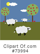Sheep Clipart #73994