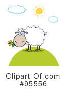 Sheep Clipart #95556 by Hit Toon