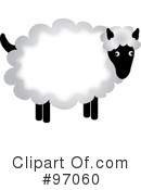 Sheep Clipart #97060 by Pams Clipart