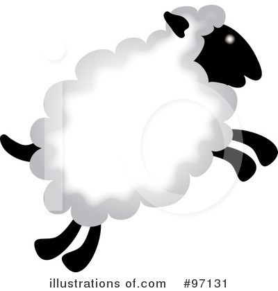 Sheep Clipart #97131 by Pams Clipart