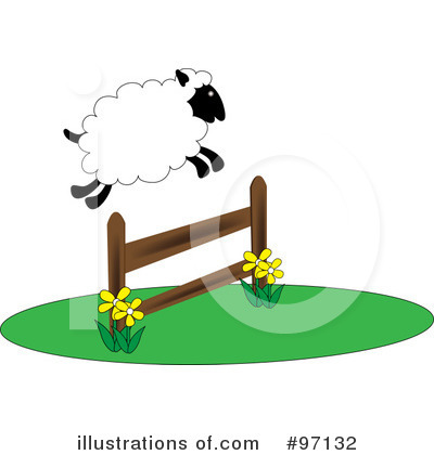 Sheep Clipart #97132 by Pams Clipart