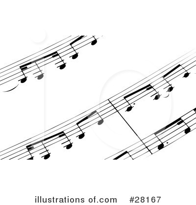 Music Notes Clipart #28167 by KJ Pargeter